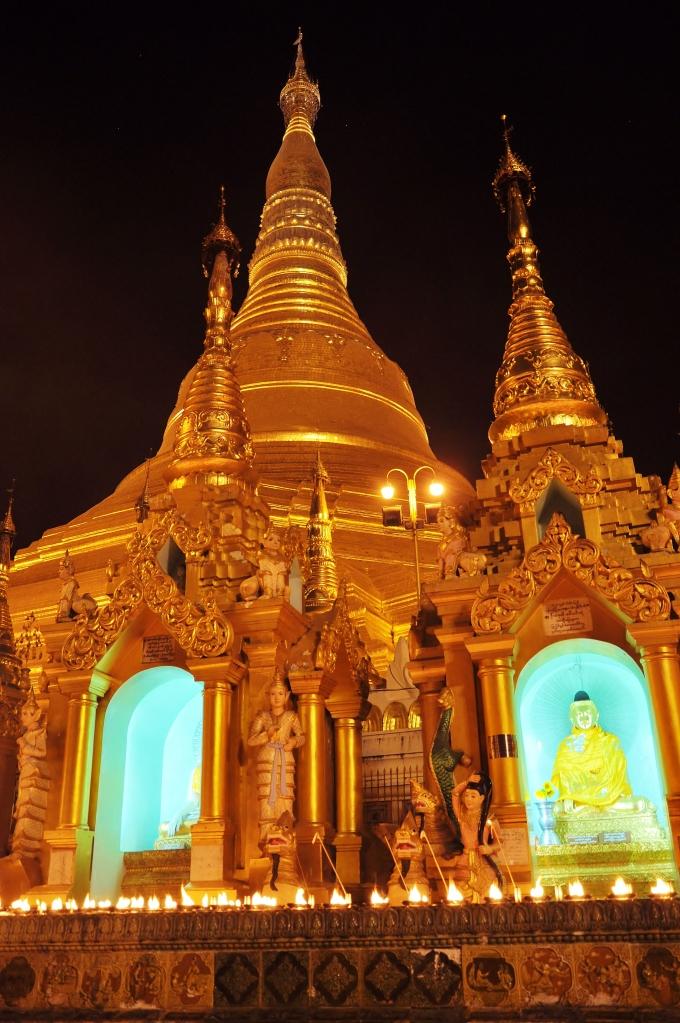 Night at Shwedagon