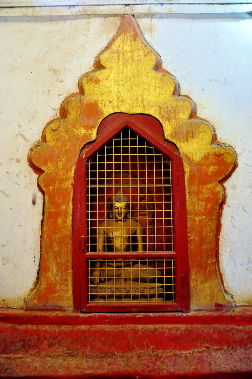 Buddha in a cage