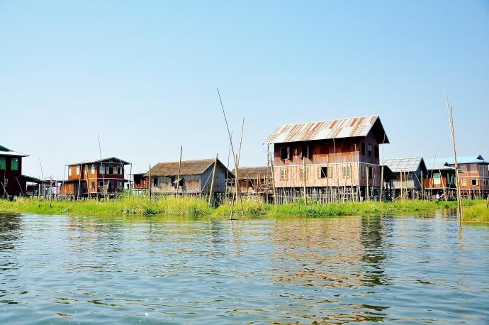 Inle Lake village