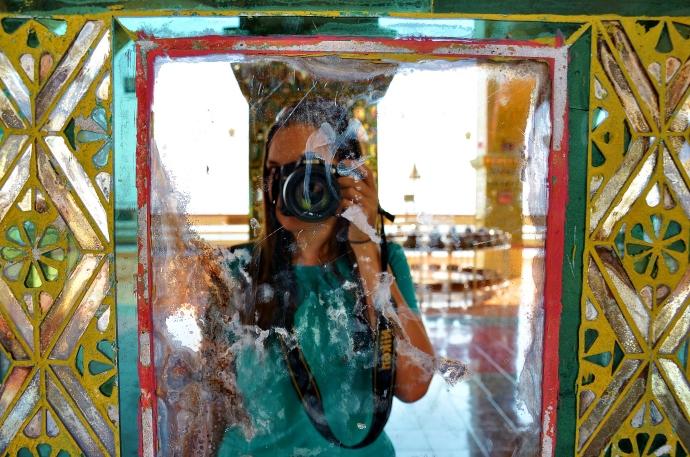 Me at Sutaungpyei in Mandalay