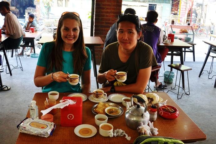 Tea and dumpling party