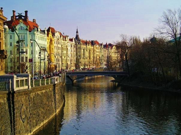 Prague in March 2007