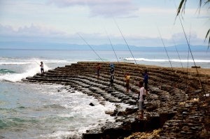 Fishermen in Lombok